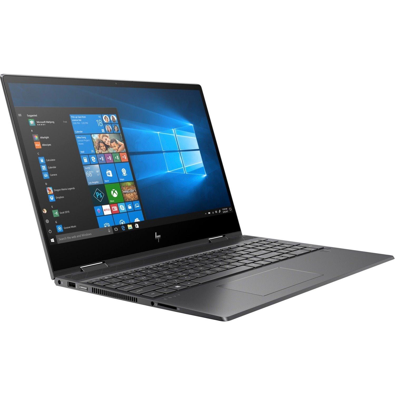 "HP ENVY x360 15-ds0000 15-ds0004AU 39.6 cm (15.6"") Touchscreen 2 in 1 Notebook - 1920 x 1080 - Ryzen 3 3300U - 8 GB RAM - 256 GB SSD - Nightfall Black"