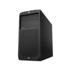 HP Z2 G4 Workstation - 1 x Xeon E-2124G - 16 GB RAM - 1 TB HDD - 256 GB SSD - Mini-tower - Black