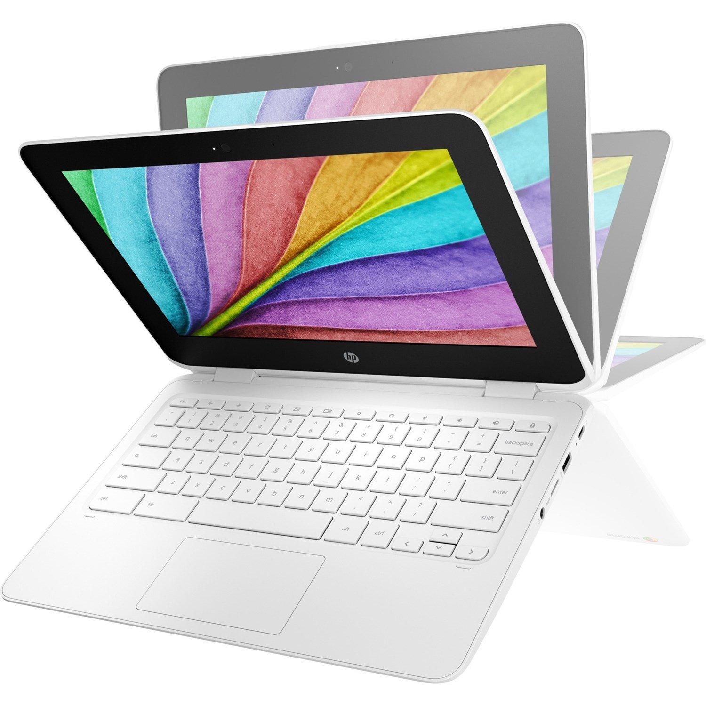 "HP Chromebook x360 11 G2 EE 29.5 cm (11.6"") Touchscreen 2 in 1 Chromebook - 1366 x 768 - Intel Celeron N4000 Dual-core (2 Core) 1.10 GHz - 4 GB RAM - 32 GB Flash Memory - Sail Blue"