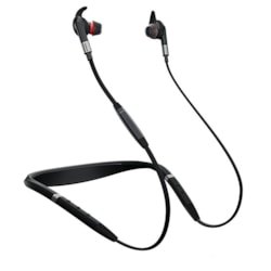 Jabra EVOLVE 75e Wireless Bluetooth 15 mm Stereo Earset - Earbud, Behind-the-neck - In-ear