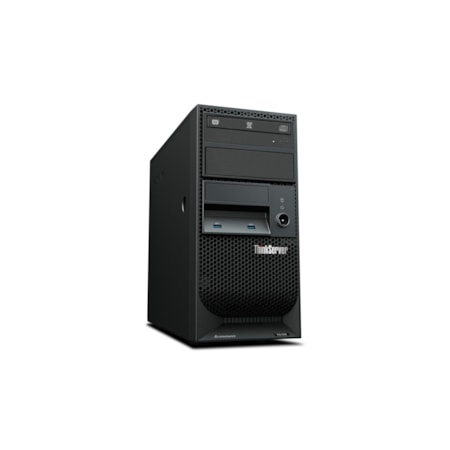 Lenovo ThinkServer TS150 70UD000VAZ 4U Tower Server - 1 x Intel Xeon E3-1245 v6 Quad-core (4 Core) 3.70 GHz - 8 GB Installed DDR4 SDRAM - Serial ATA/600 Controller - 0, 1, 5, 10 RAID Levels - 1