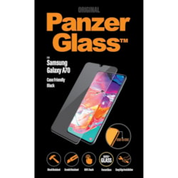 PanzerGlass Original Tempered Glass Screen Protector - Crystal Clear, Black