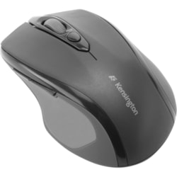 Kensington Pro Fit Mouse - Radio Frequency - USB, PS/2 - Optical - Black