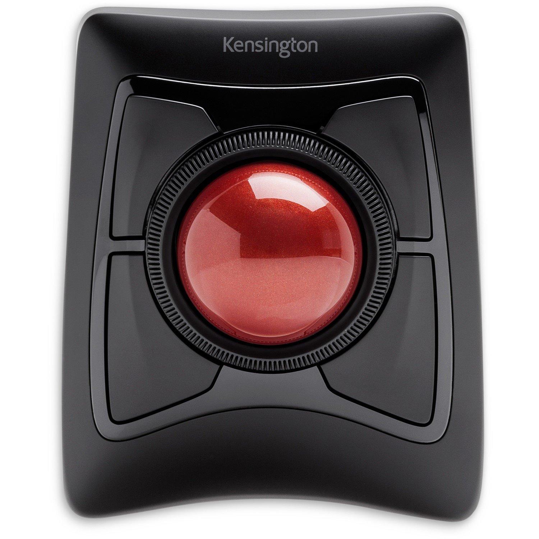 Kensington Expert Mouse Trackball - Bluetooth/Radio Frequency - USB - DiamondEye - 4 Button(s) - Black - 1 Pack