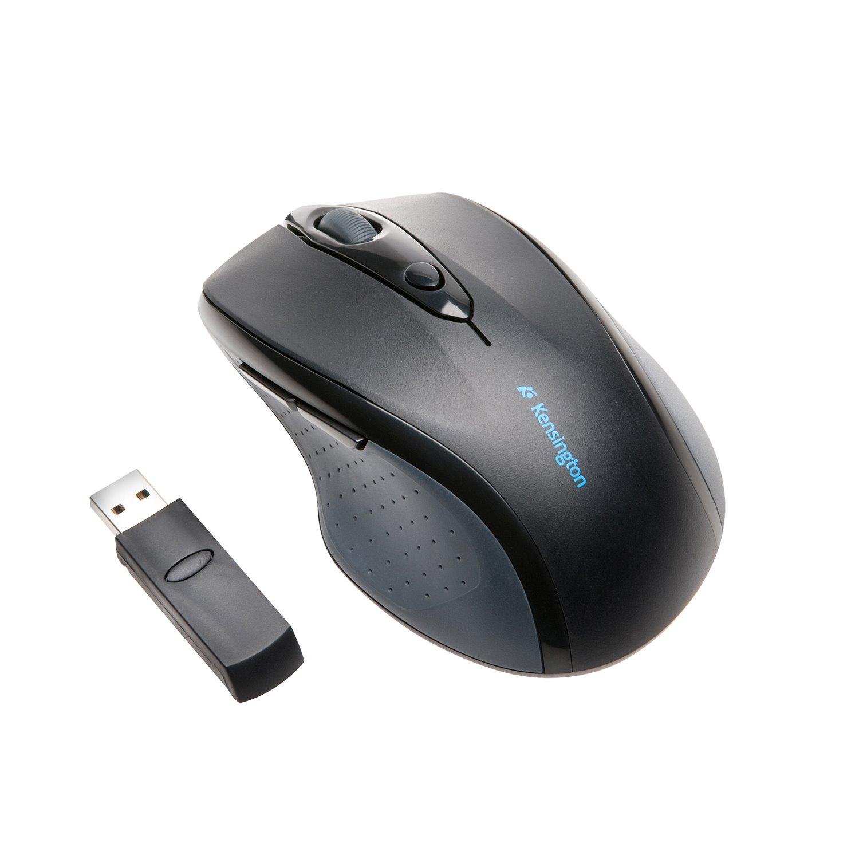 Kensington ProFit Mouse - Optical - Wireless - Black - Retail