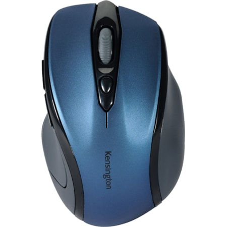 Kensington Pro Fit Mouse - Radio Frequency - USB - Optical - Sapphire, Blue