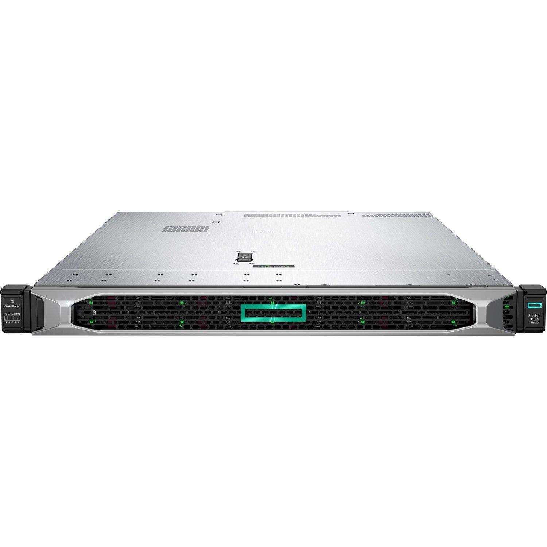 HPE ProLiant DL360 G10 1U Rack Server - 1 x Xeon Silver 4214R - 32 GB RAM HDD SSD - Serial ATA/600, 12Gb/s SAS Controller