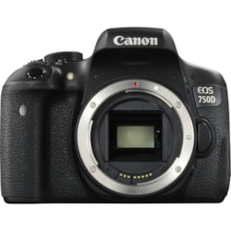 Canon EOS 750D 24.2 Megapixel Digital SLR Camera Body Only