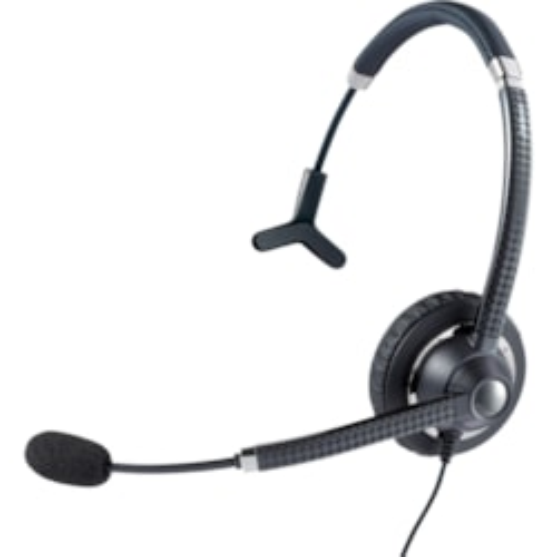 Jabra UC Voice 750 Wired Mono Headset - Over-the-head - Supra-aural