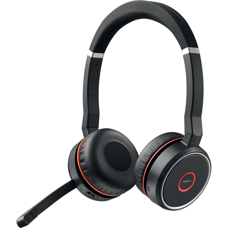 8d95844aa05 Jabra EVOLVE 75 Wireless Bluetooth 40 mm Stereo Headset - Over-the-head -