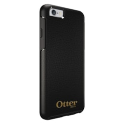 OtterBox Symmetry Case for Apple iPhone 6 Plus Smartphone - OtterBox Gold Logo - Midnight Black