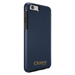 OtterBox Symmetry Case for Apple iPhone 6 Plus Smartphone - Gold Logo - Blue