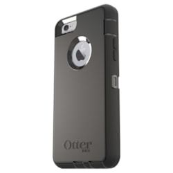 OtterBox Defender Carrying Case (Holster) Apple iPhone 6s, iPhone 6 Smartphone - Black