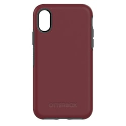 OtterBox Symmetry Case for Apple iPhone X Smartphone - Fine Port