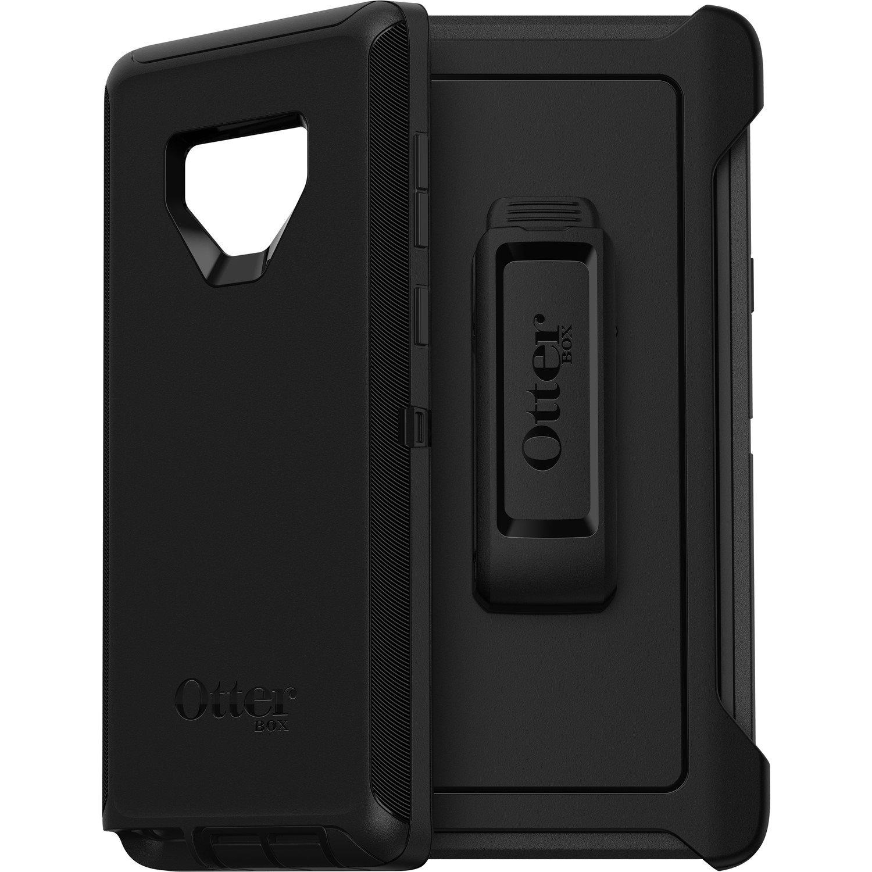 OtterBox Defender Carrying Case (Holster) for Samsung Smartphone - Black