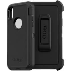 OtterBox Defender Carrying Case (Holster) for Apple iPhone Xs, iPhone X - Black