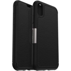 OtterBox Strada Carrying Case (Folio) for Apple iPhone Xs, iPhone X - Shadow