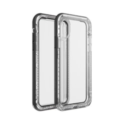 LifeProof NÃ‹XT Case for iPhone X, iPhone Xs - - Black Crystal, Transparent