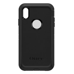 OtterBox Defender Carrying Case (Holster) for Apple iPhone Xs Max - Black