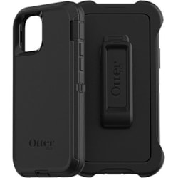 OtterBox Defender Carrying Case (Holster) Apple iPhone 11 Pro Smartphone - Black