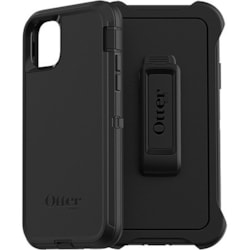 OtterBox Defender Carrying Case (Holster) Apple iPhone 11 Pro Max Smartphone - Black