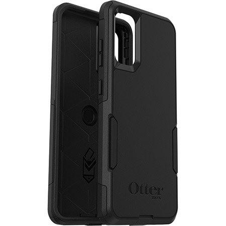 OtterBox Commuter Case for Samsung Galaxy S20, Galaxy S20 5G Smartphone - Black