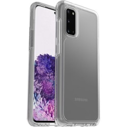 OtterBox Symmetry Case for Samsung Galaxy S20, Galaxy S20 5G Smartphone - Clear