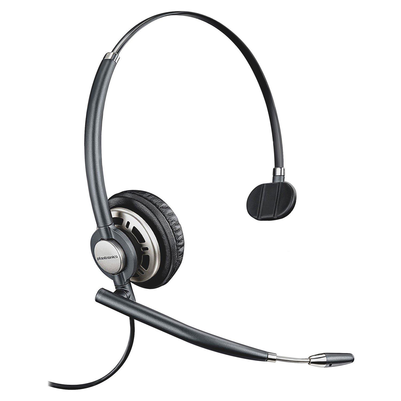 Plantronics EncorePro HW710 Wired Mono Headset - Over-the-head - Circumaural
