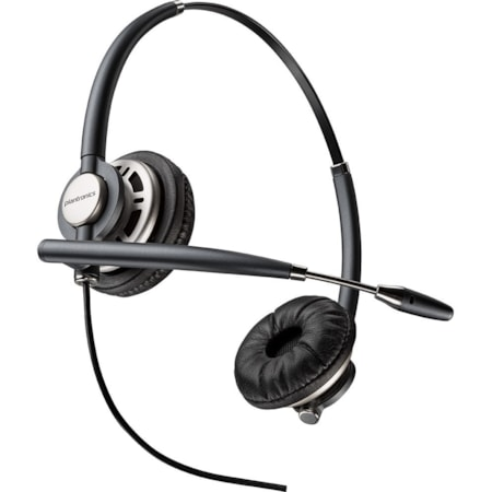 Plantronics EncorePro HW720D Wired Stereo Headset - Over-the-head - Supra-aural