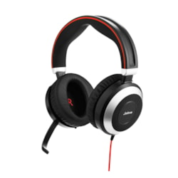 Jabra EVOLVE 80 Wired Stereo Headset - Over-the-head - Circumaural