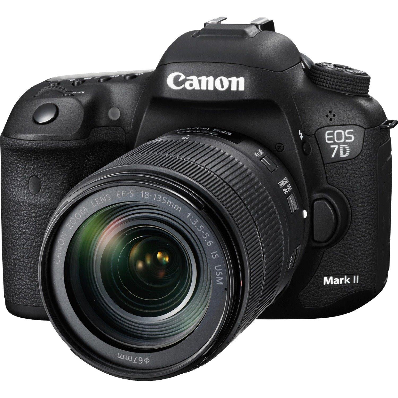 Canon EOS 7D Mark II 20.2 Megapixel Digital SLR Camera with Lens - 18 mm - 135 mm