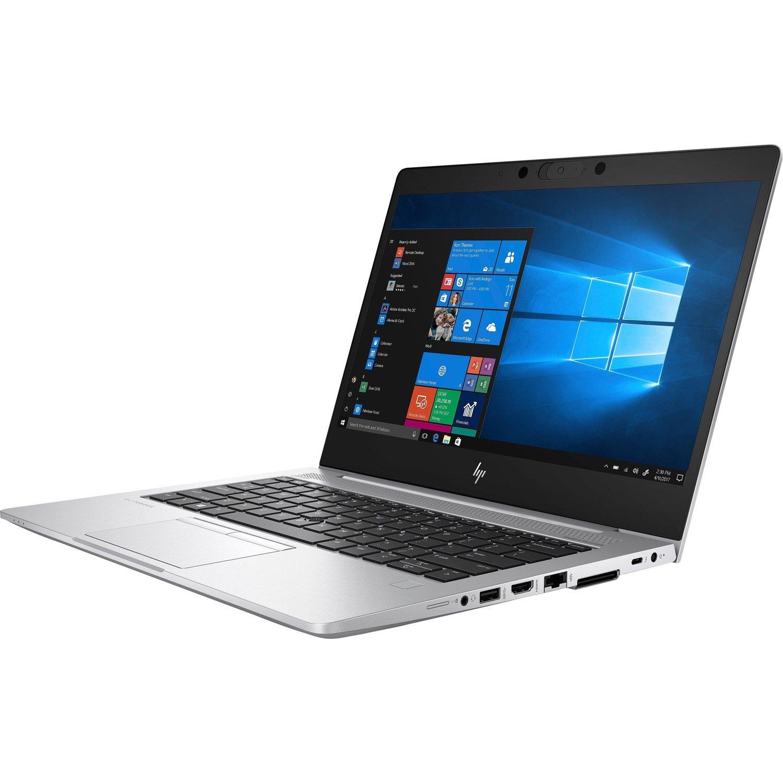 """HP EliteBook 830 G6 33.8 cm (13.3"""") Notebook - 1920 x 1080 - Intel Core i7 (8th Gen) i7-8565U Quad-core (4 Core) 1.80 GHz - 16 GB RAM - 512 GB SSD - Silver"""