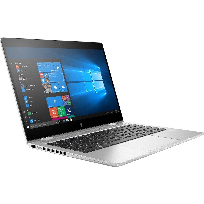 """HP EliteBook x360 830 G6 33.8 cm (13.3"""") Touchscreen 2 in 1 Notebook - 1920 x 1080 - Intel Core i5 (8th Gen) i5-8265U Quad-core (4 Core) 1.60 GHz - 8 GB RAM - 256 GB SSD"""