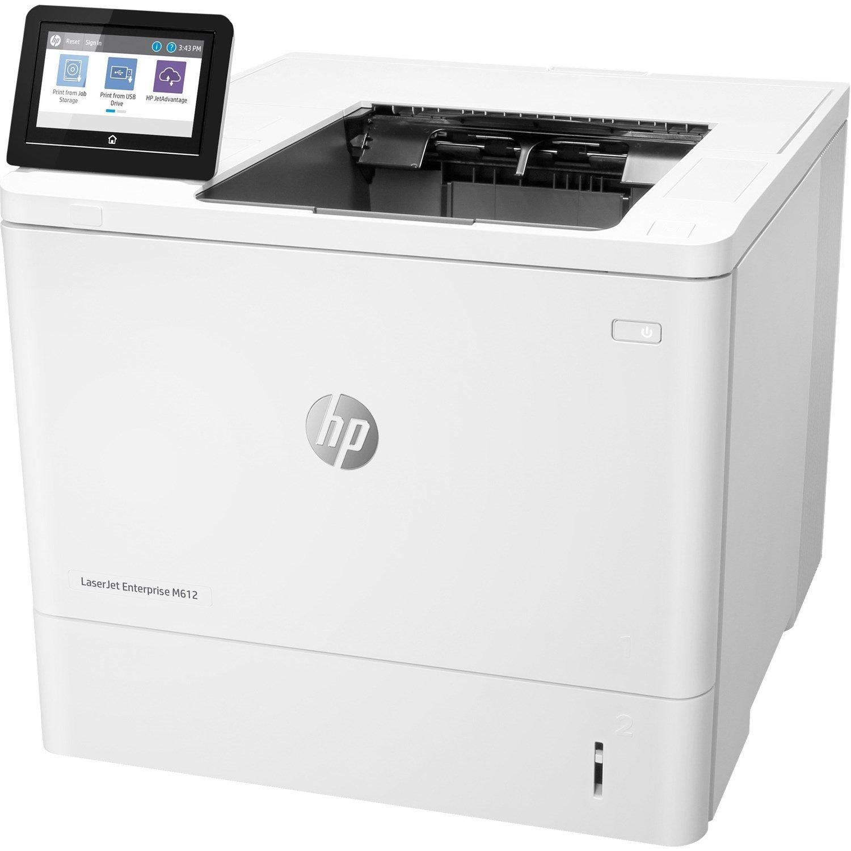 HP LaserJet Enterprise M612dn Desktop Laser Printer - Monochrome