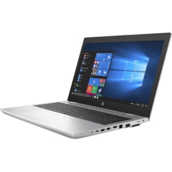 "HP ProBook 650 G5 39.6 cm (15.6"") Notebook - 1920 x 1080 - Intel Core i5 (8th Gen) i5-8265U Quad-core (4 Core) 1.60 GHz - 8 GB RAM - 256 GB SSD - Natural Silver"