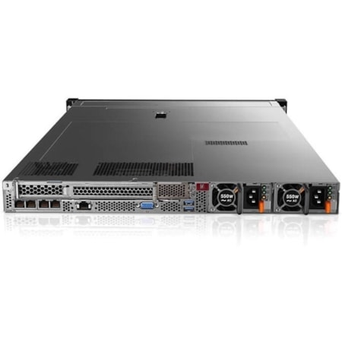 Lenovo ThinkSystem SR630 7X02100FAU 1U Rack Server - 1 x Intel Xeon Silver 4110 Octa-core (8 Core) 2.10 GHz - 16 GB Installed TruDDR4 - 12Gb/s SAS, Serial ATA/600 Controller - 0, 1, 5, 6, 10, 50, 60, JBOD RAID Levels - 1 x 750 W