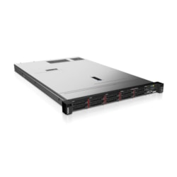 Lenovo ThinkSystem SR630 7X02100FAU 1U Rack Server - 1 x Intel Xeon Silver 4110 Octa-core (8 Core) 2.10 GHz - 16 GB Installed TruDDR4 - 12Gb/s SAS, Serial ATA/600 Controller - 0, 1, 5, 6, 10, 50, 60, JBOD RAID Levels - 1 x 750 W