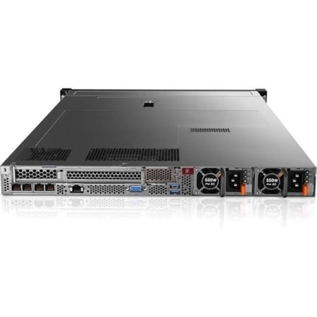 Lenovo ThinkSystem SR630 7X02A03HAU 1U Rack Server - 1 x Xeon Gold 6134 - 32 GB RAM HDD SSD - 12Gb/s SAS, Serial ATA/600 Controller