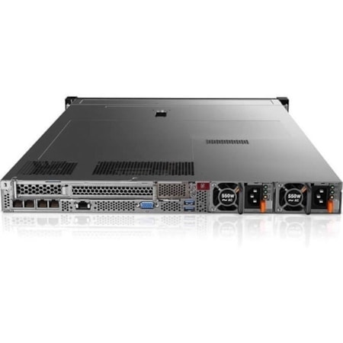 Lenovo ThinkSystem SR630 7X02A04HAU 1U Rack Server - 1 x Xeon Silver 4110 - 16 GB RAM HDD SSD - 12Gb/s SAS, Serial ATA/600 Controller