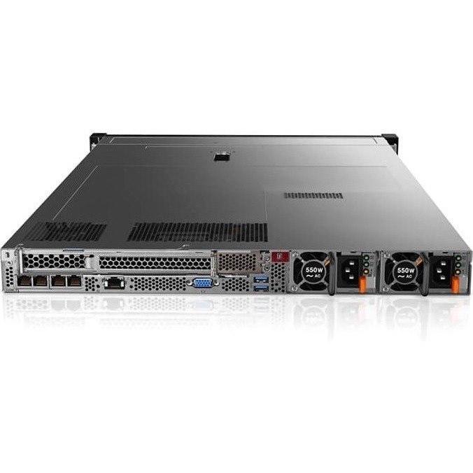 Lenovo ThinkSystem SR630 7X02A056AU 1U Rack Server - 1 x Xeon Silver 4114 - 16 GB RAM HDD SSD - 12Gb/s SAS, Serial ATA/600 Controller