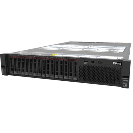 Lenovo ThinkSystem SR550 7X041005AU 2U Rack Server - 1 x Intel Xeon Silver 4110 Octa-core (8 Core) 2.10 GHz - 16 GB Installed TruDDR4 - 12Gb/s SAS, Serial ATA/600 Controller - 0, 1, 5, 10, 50, JBOD RAID Levels - 1 x 750 W