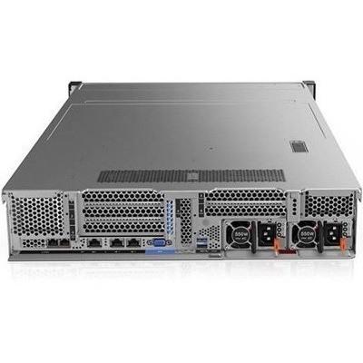 """LENOVO Server : SR550, Xeon Silver 4110 8C 2.1GHz, 1x16GB (1Rx4 1.2V) RDIMM, 1x3.5"""" SATA/SAS 8-Bay, 930-8i 2GB Flash PCIe, 1x750W, 1xToolless Slide Rail"""