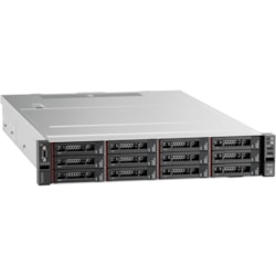 Lenovo ThinkSystem SR550 7X04A07LAU 2U Rack Server - 1 x Intel Xeon Silver 4208 2.10 GHz - 16 GB RAM HDD SSD - Serial ATA/600, 12Gb/s SAS Controller