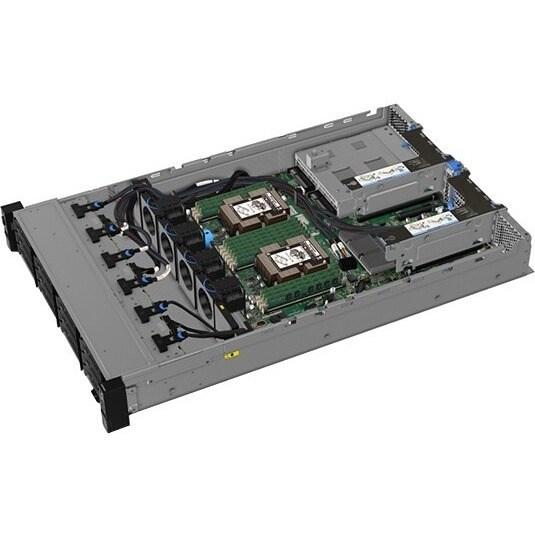 Lenovo ThinkSystem SR550 7X04A07XAU 2U Rack Server - 1 x Xeon Silver 4208 - 16 GB RAM HDD SSD - Serial ATA/600, 12Gb/s SAS Controller