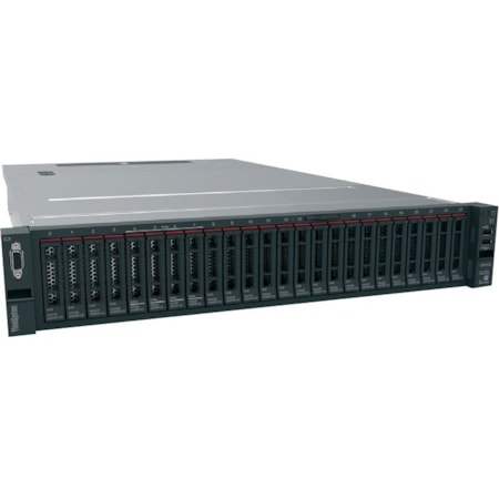 Lenovo ThinkSystem SR650 7X061002AU 2U Rack Server - 1 x Intel Xeon Silver 4108 Octa-core (8 Core) 1.80 GHz - 16 GB Installed TruDDR4 - 12Gb/s SAS, Serial ATA/600 Controller - 0, 1, 5, 10, 50, JBOD RAID Levels - 1 x 750 W