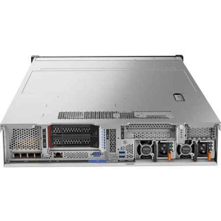 Lenovo ThinkSystem SR650 7X061004AU 2U Rack Server - 1 x Intel Xeon Silver 4114 Deca-core (10 Core) 2.20 GHz - 16 GB Installed TruDDR4 - 12Gb/s SAS, Serial ATA/600 Controller - 0, 1, 5, 10, 50, JBOD RAID Levels - 1 x 750 W