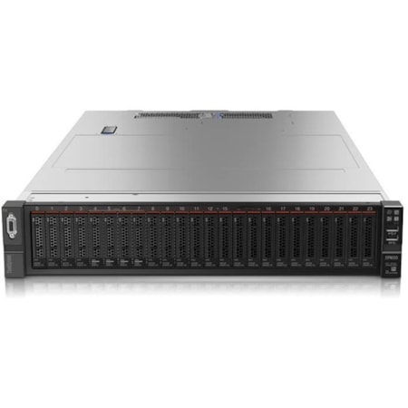 Lenovo ThinkSystem SR650 7X061006AU 2U Rack Server - 1 x Intel Xeon Gold 5118 Dodeca-core (12 Core) 2.30 GHz - 32 GB Installed TruDDR4 - 12Gb/s SAS, Serial ATA/600 Controller - 0, 1, 5, 10, 50, JBOD RAID Levels - 1 x 1.10 kW