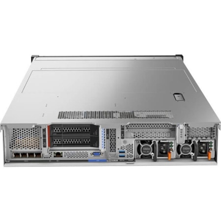 Lenovo ThinkSystem SR650 7X061009AU 2U Rack Server - 1 x Intel Xeon Silver 4108 Octa-core (8 Core) 1.80 GHz - 16 GB Installed TruDDR4 - 12Gb/s SAS, Serial ATA/600 Controller - 0, 1, 5, 6, 10, 50, 60, JBOD RAID Levels - 1 x 750 W