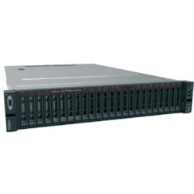 Lenovo ThinkSystem SR650 7X06100AAU 2U Rack Server - 1 x Xeon Silver 4110 - 16 GB RAM HDD SSD - 12Gb/s SAS, Serial ATA/600 Controller