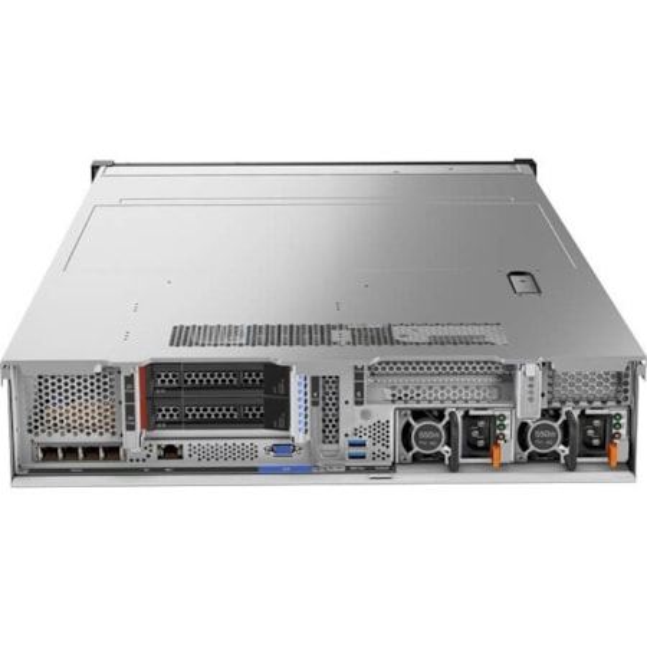 Lenovo ThinkSystem SR650 7X06A05HAU 2U Rack Server - 1 x Xeon Gold 6126 - 32 GB RAM HDD SSD - 12Gb/s SAS, Serial ATA/600 Controller
